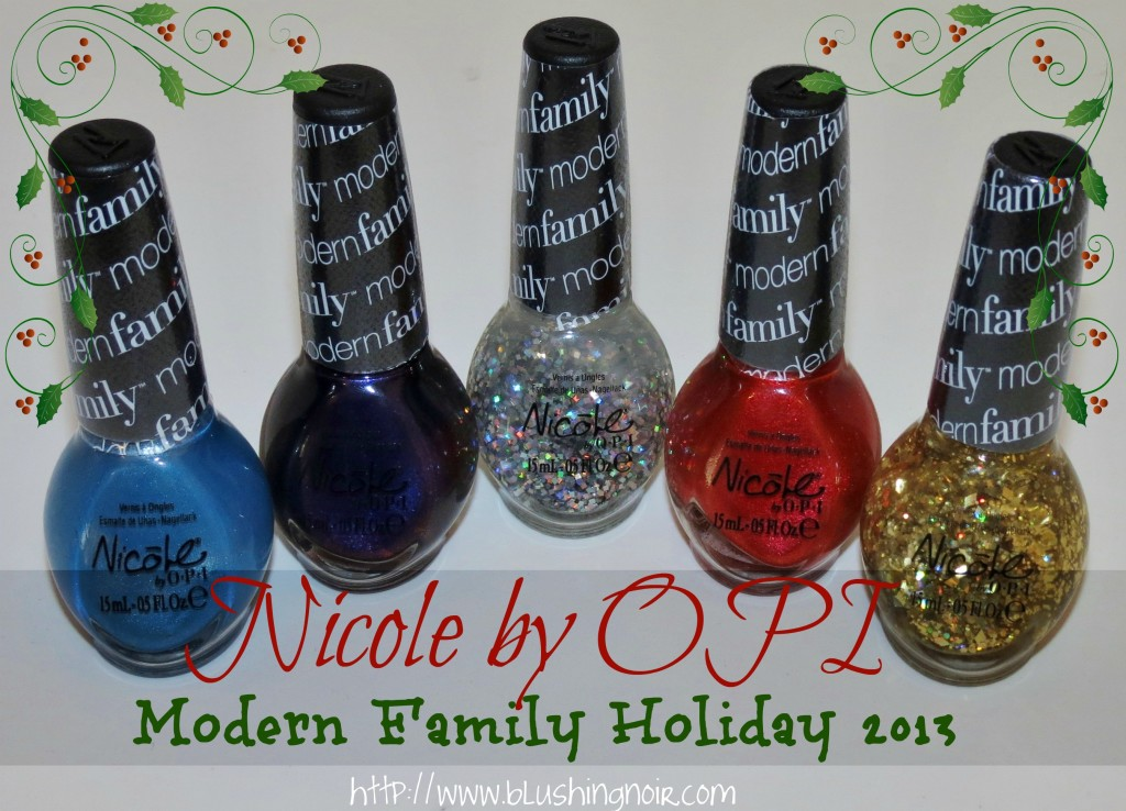 Nicole by OPI Modern Family Holiday 2013