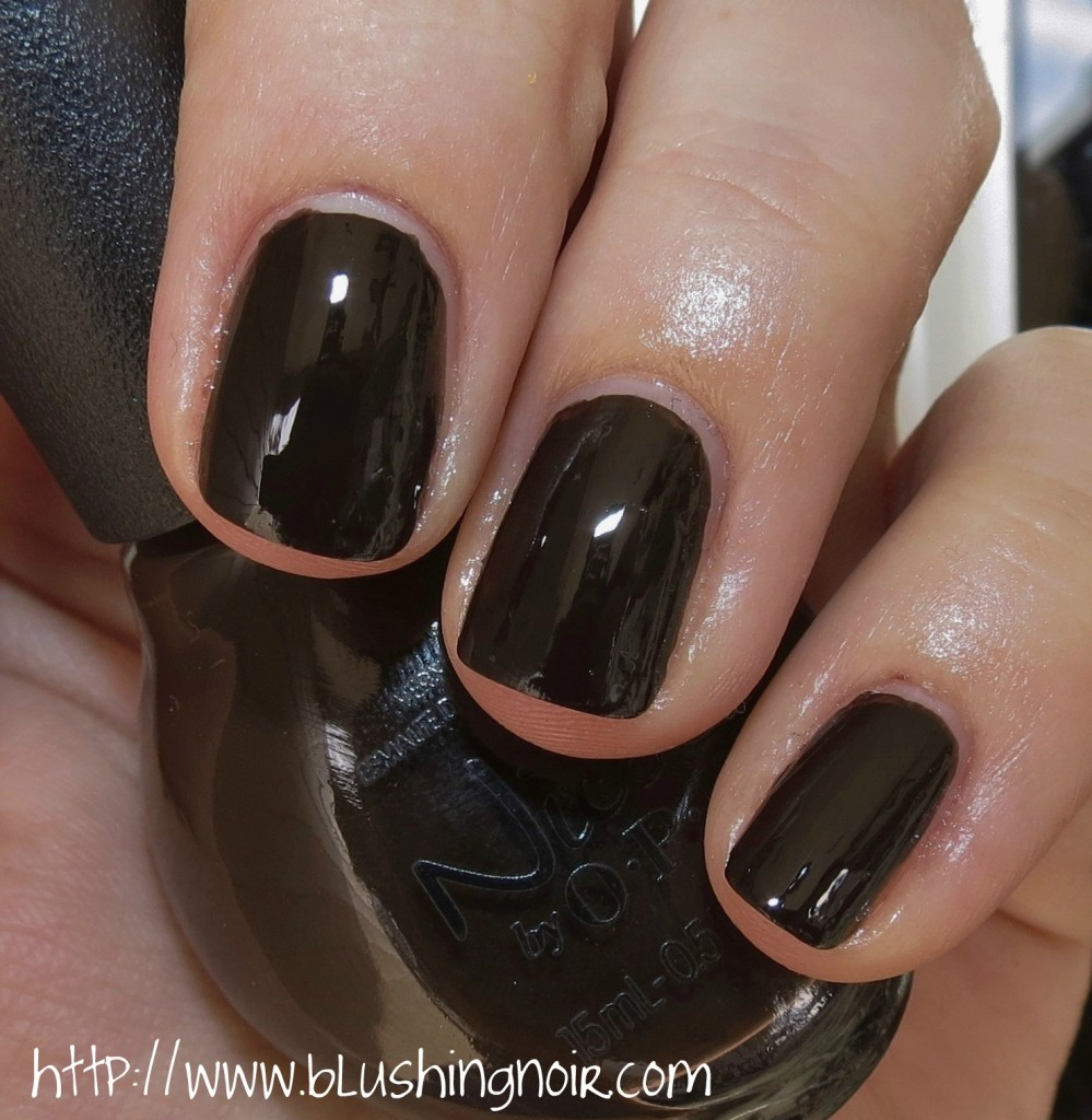 Nicole by OPI Promises After Dark Nail Polish Swatches
