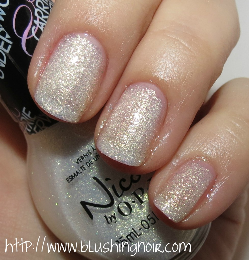Nicole by OPI Sing You Like A Bee Nail Polish Swatches
