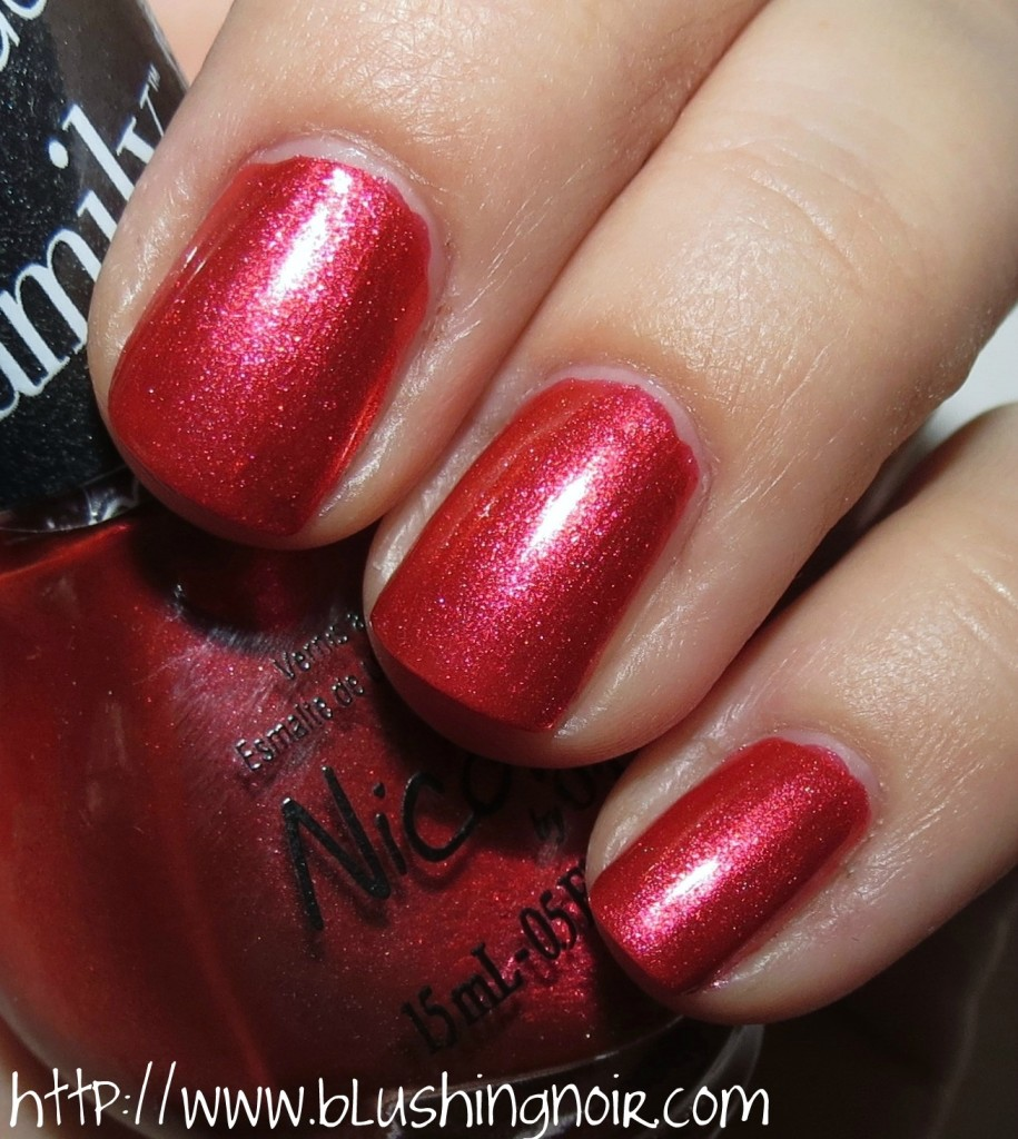 Nicole by OPI Who Red My Journal Nail Polish Swatches