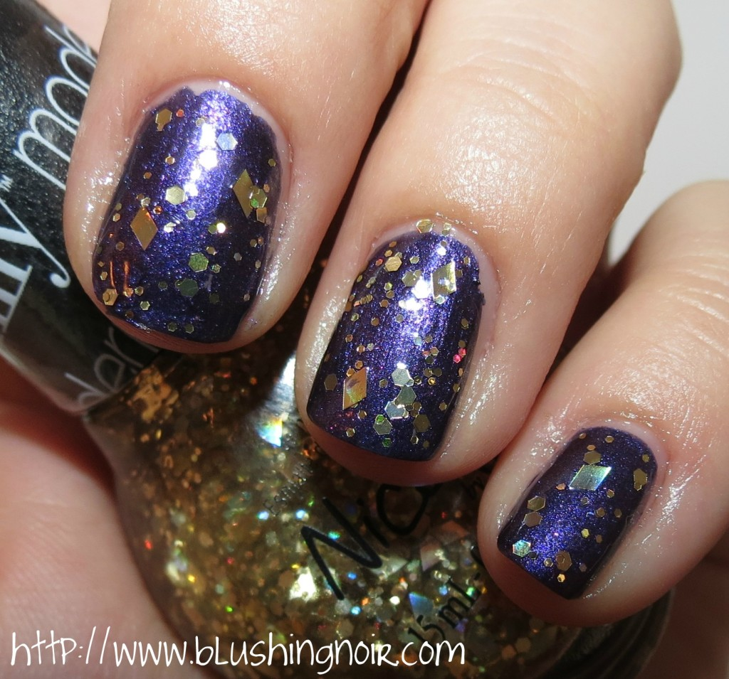 Nicole by OPI You're My Treasure Nail Polish swatches