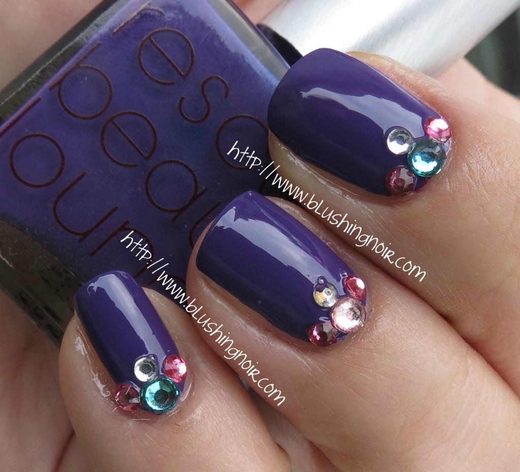 Rescue Beauty Lounge Mismas Nail Polish Swatches Nail Art 2