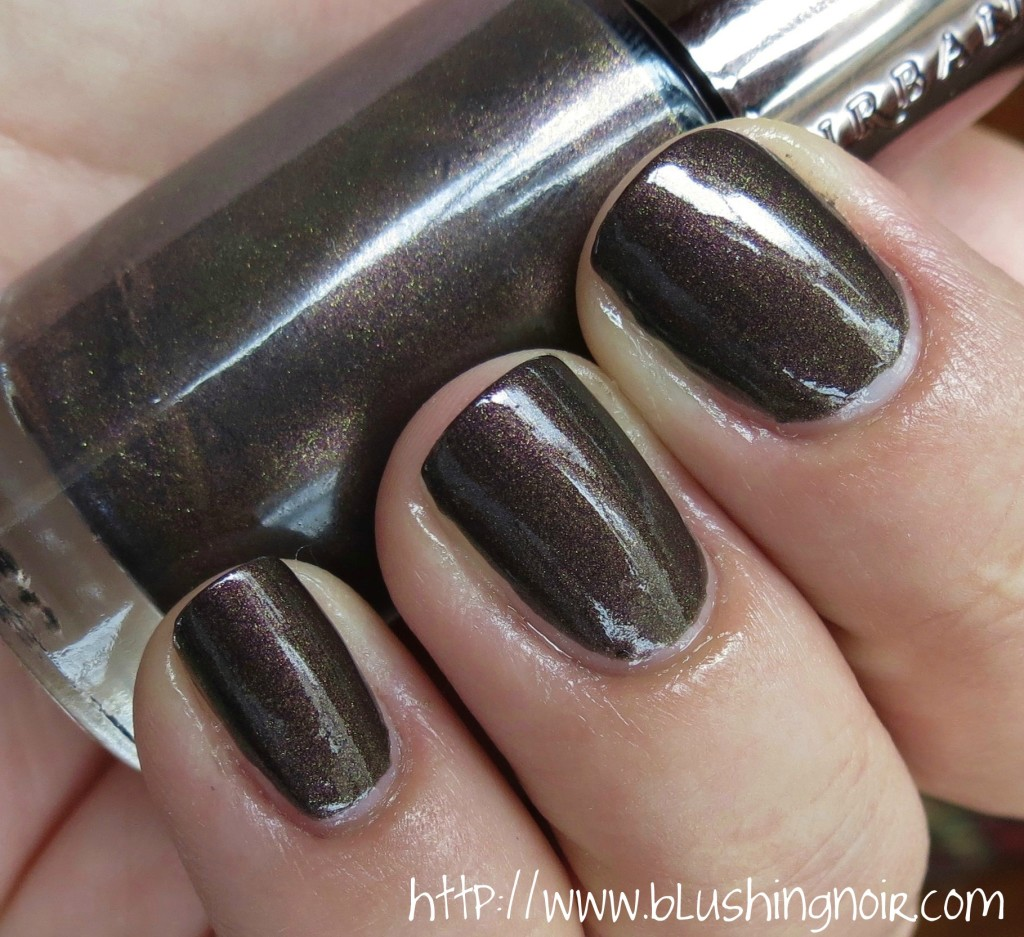 Urban Decay Blackheart Nail Polish Swatches 2