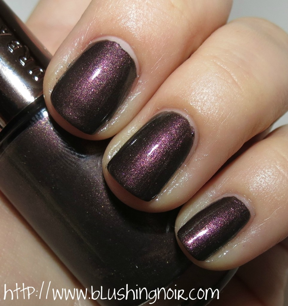 Urban Decay Blackheart Nail Polish Swatches