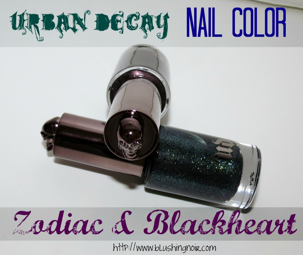 Urban Decay Zodiac & Blackheart Nail Polish