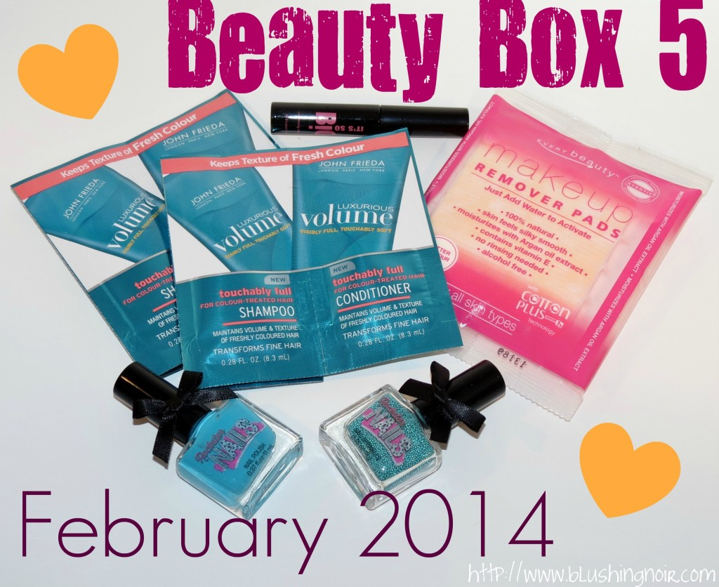 Beauty Box 5 February 2014 Swatches Review