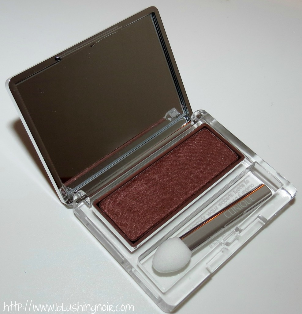 Clinique BLACK HONEY All About Shadow Eyeshadow Single Swatches Review