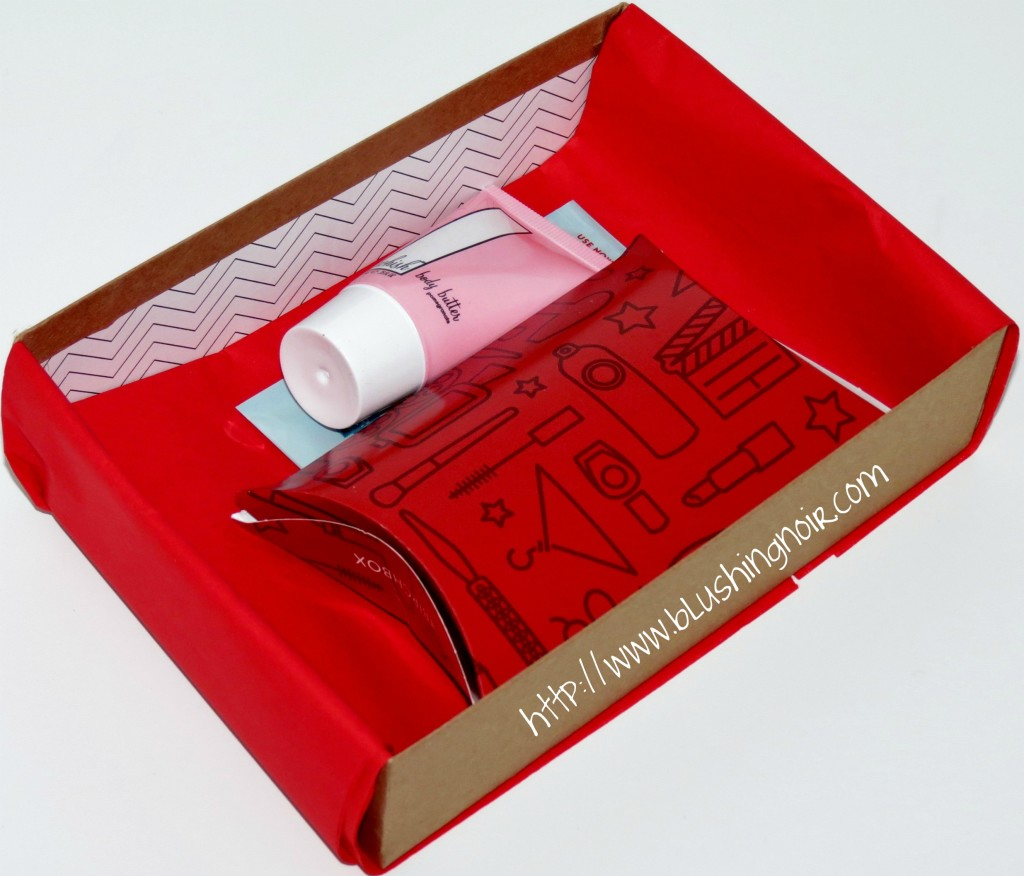 February 2014 Birchbox What's Inside