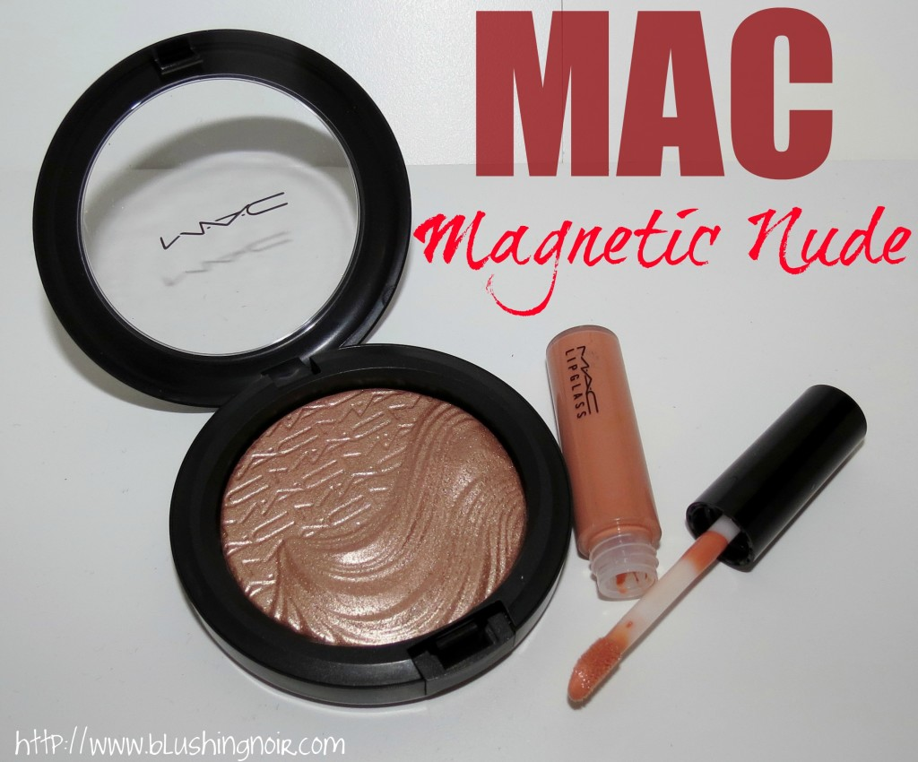 MAC Superb Extra Dimension Skinfinish, Overspiced Lipglass Magnetic Nude Review