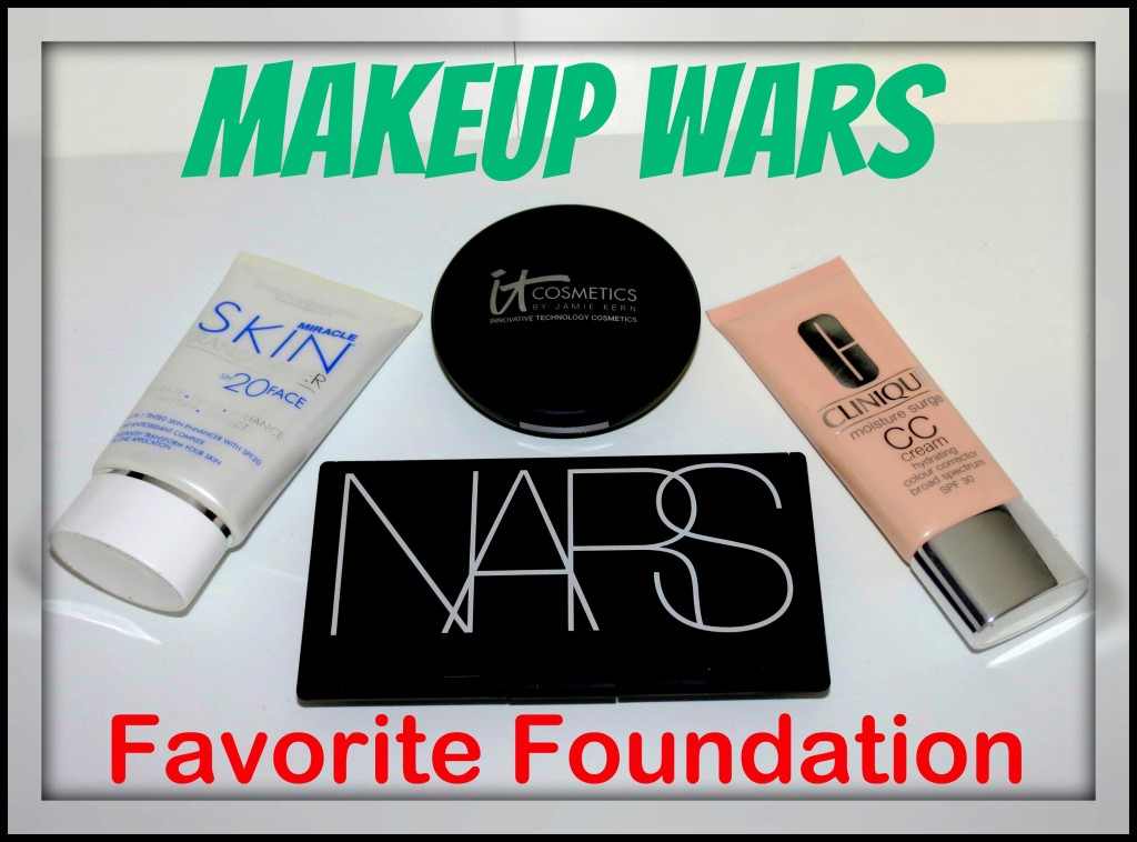 Makeup Wars Favorite Foundation