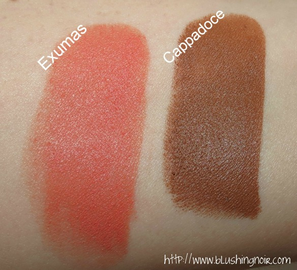 NARS Exumas Cappadoce Matte Multiple Swatches