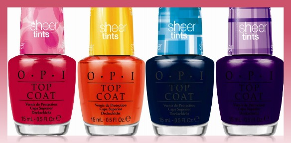 Sheer Tints by OPI