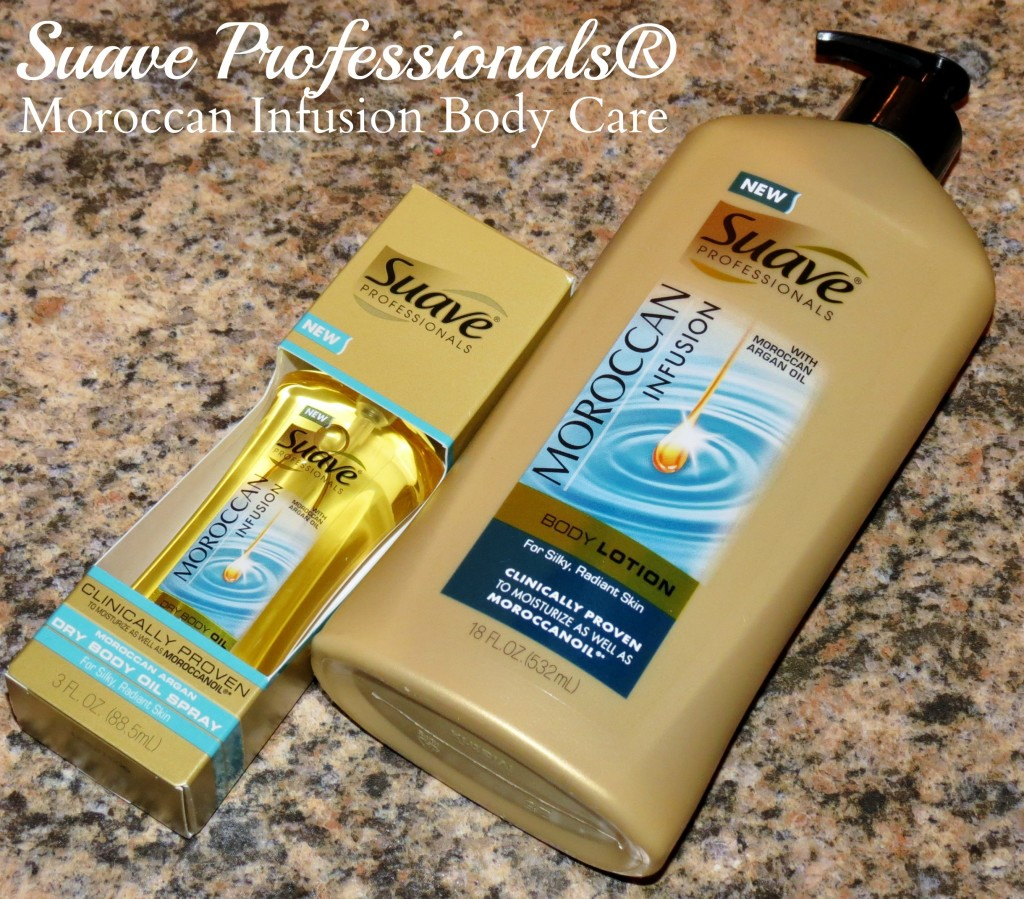 Suave Professionals® Moroccan Infusion Body Care