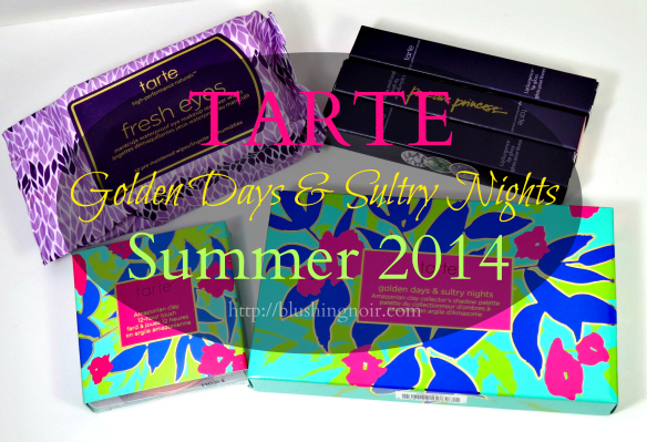 Tarte Golden Days Sultry Nights Collection Summer 2014