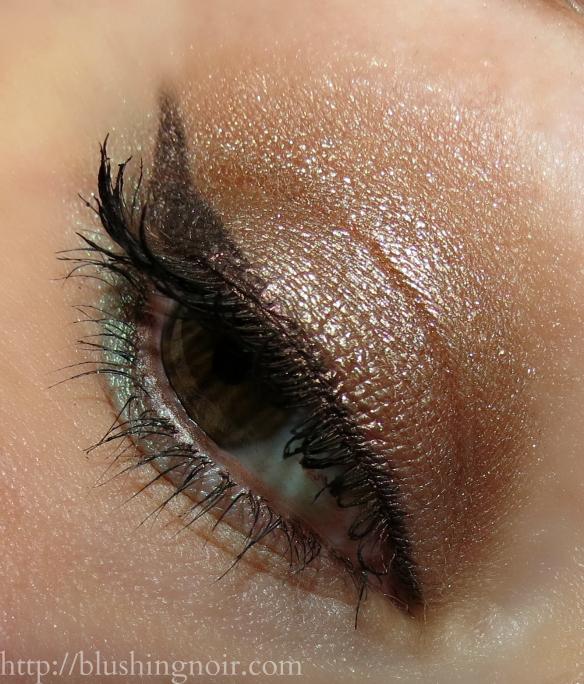 Tarte Golden Days Sultry Nights Palette Eye Look