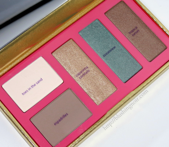Tarte Golden Days Sultry Nights Shadow Palette Review