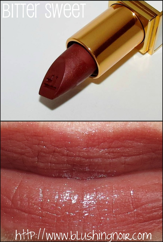Tom Ford Bitter Sweet Lip Color Sheer Swatches
