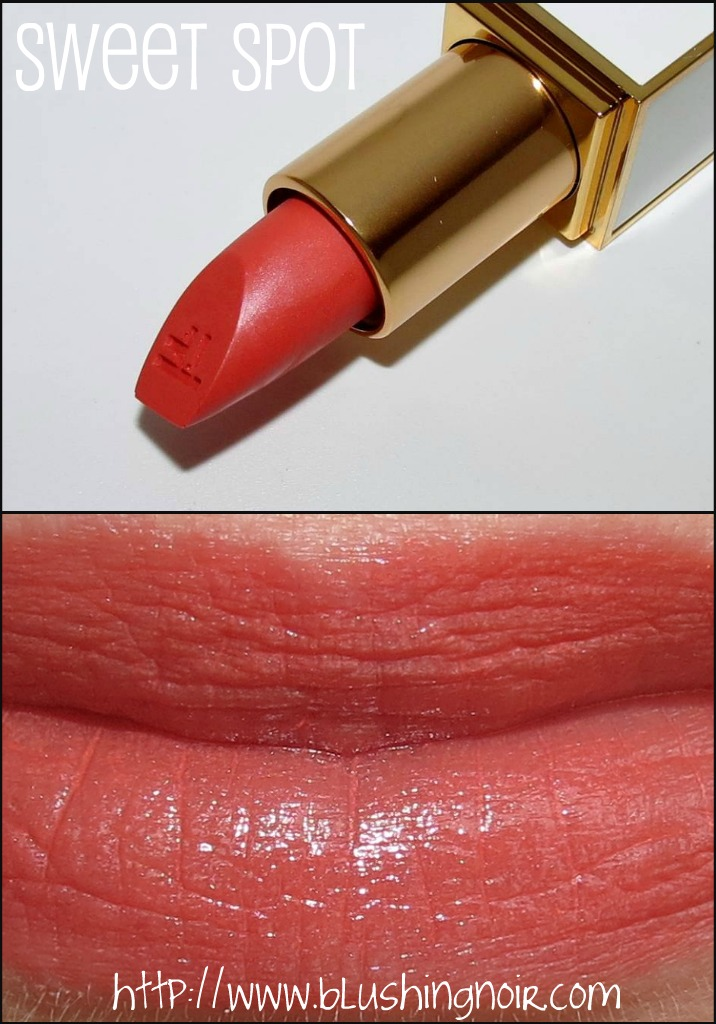 Tom Ford Sweet Spot Lip Color Sheer Swatches