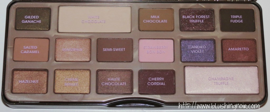 Too Faced The Chocolate Bar Eye Palette Review 1
