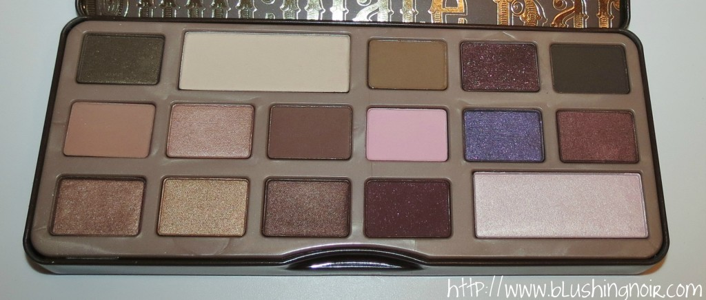 Too Faced The Chocolate Bar Eye Palette Review 2