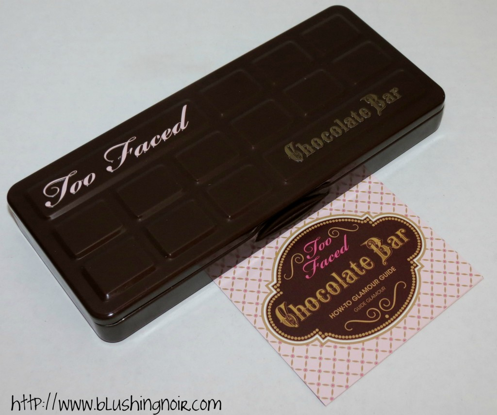 Too Faced The Chocolate Bar Eye Palette case