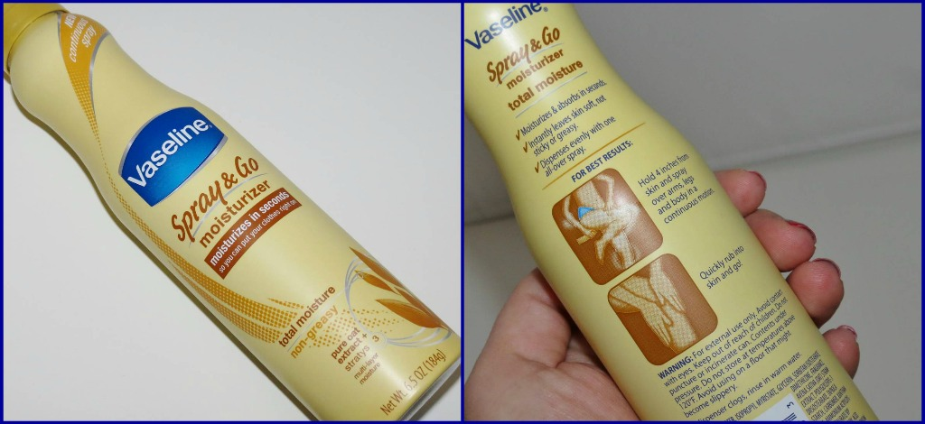 Vaseline® Spray & Go Moisturizer #SprayItForward