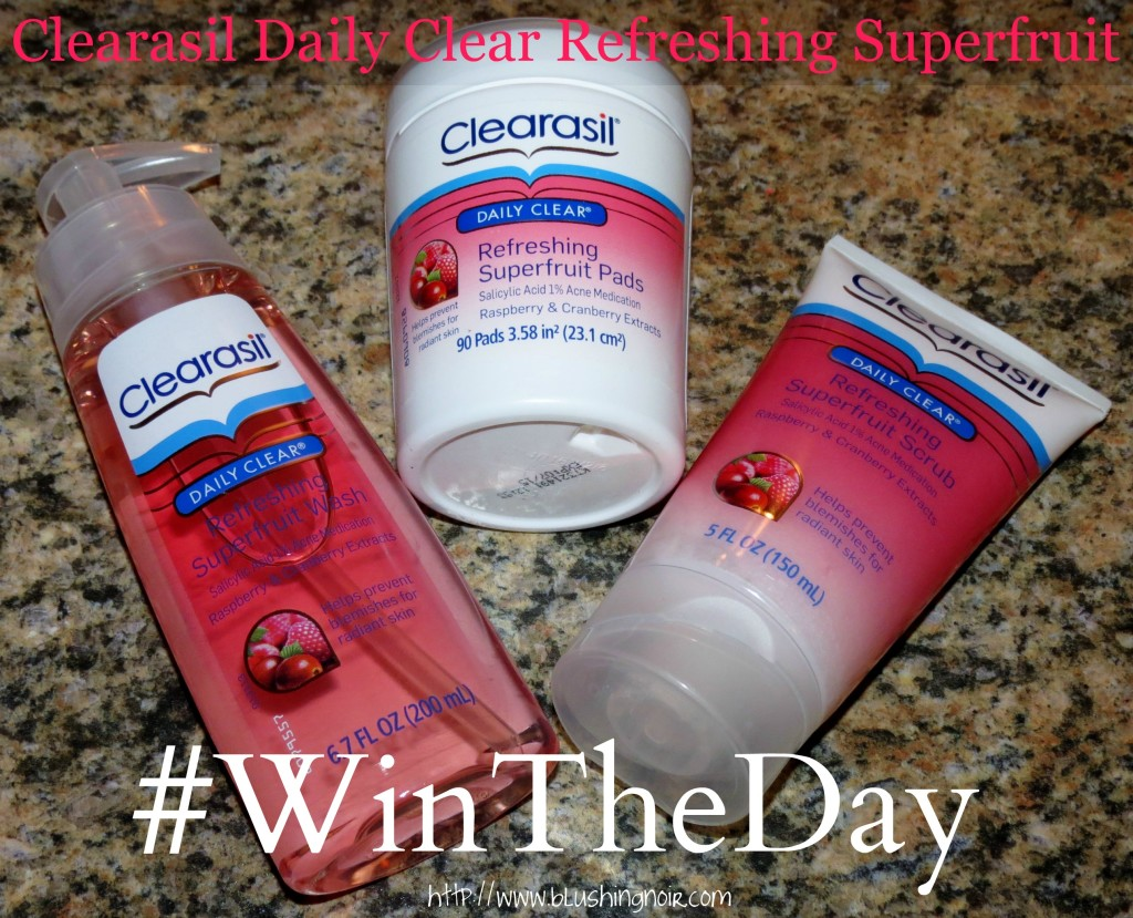 #WinTheDay the Right Way With Clearasil Daily Clear