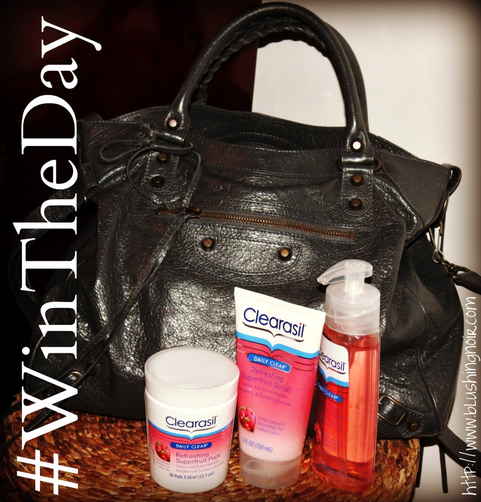 #WinTheDay the Right Way With Clearasil Daily Clear 3