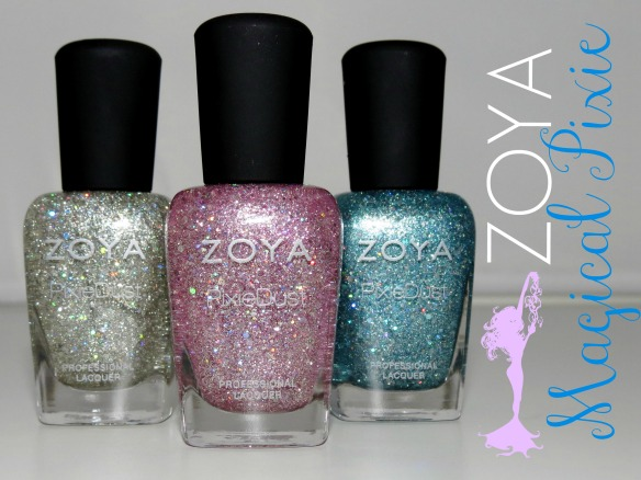 Zoya Magical Pixie Nail Polish Collection Swatches Review