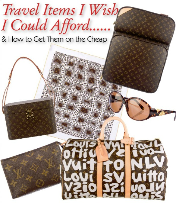 Authentic Inexpensive Louis Vuitton Travel Items Wishlist