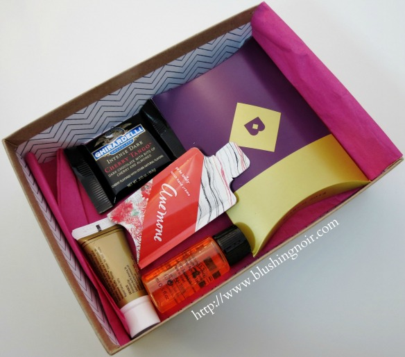 Birchbox March 2014 Spring Forward contents