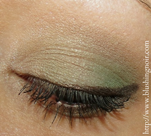 Burberry Sage Green Complete Eye Shadow Palette EOTD Eye Look