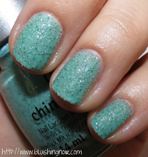 China Glaze Teal the Tide Turns Nail Polish Swatches