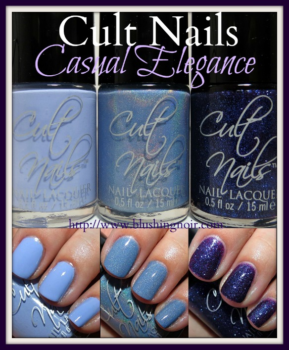 Cult Nails Casual Elegance Collection Swatches Review photos