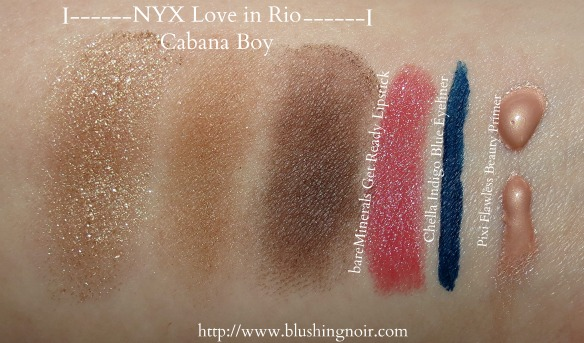 March 2014 ipsy Glam Bag swatches