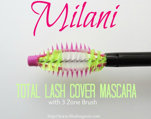 Milani 3 Zone Total Lash Cover Mascara Photos Swatches Review