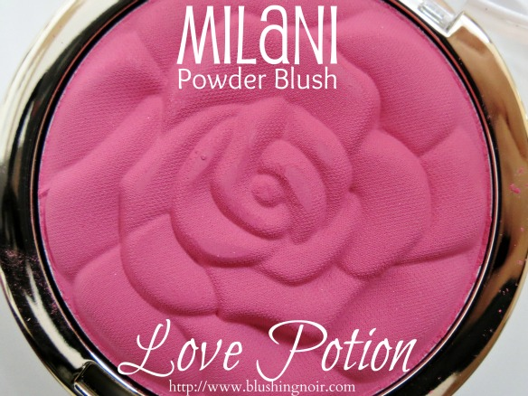 Milani Love Potion Powder Blush Swatches Review Look