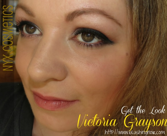 NYX Cosmetics Revenge Is Infinite Makeup Collection Get the Look Victoria Grayson FOTD 2