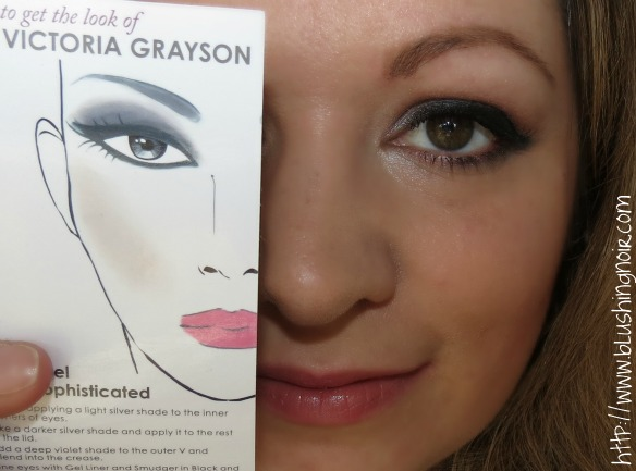 NYX Cosmetics Revenge Is Infinite Makeup Collection Get the Look Victoria Grayson FOTD