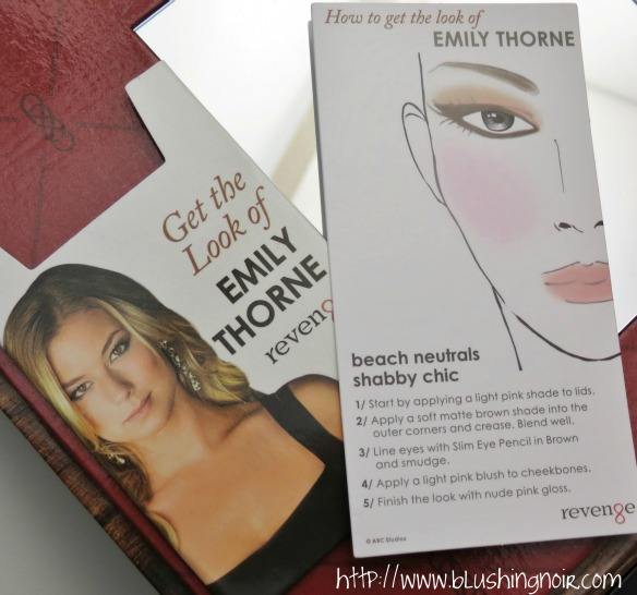 NYX Cosmetics Revenge Is Infinite Makeup Collection Get the Look of Emily Thorne