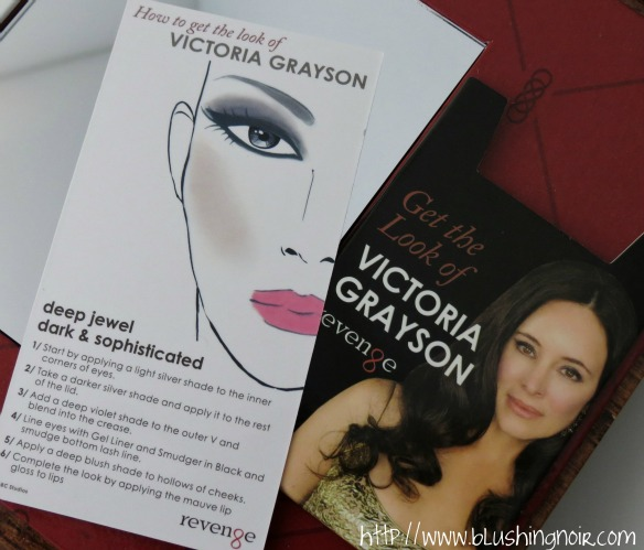 NYX Cosmetics Revenge Is Infinite Makeup Collection How to get the look of Victoria Grayson