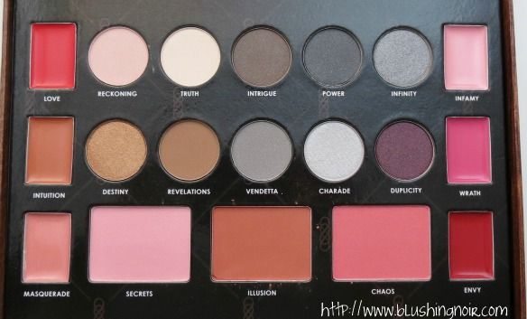 NYX Cosmetics Revenge Is Infinite Makeup Collection Review