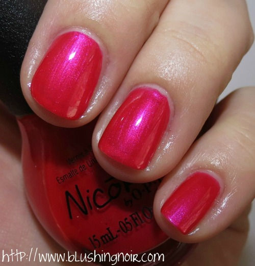 Nicole by OPI Always a Flirt Nail Polish Swatches