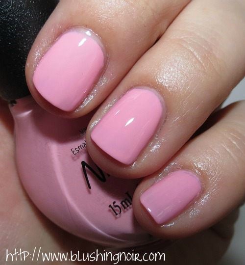 Nicole by OPI At Least I Pink So Nail Polish Swatches