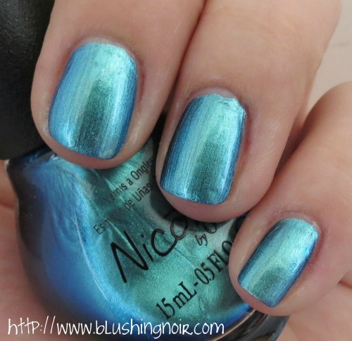 Nicole by OPI Emerald Empowered nail Polish Swatches shade