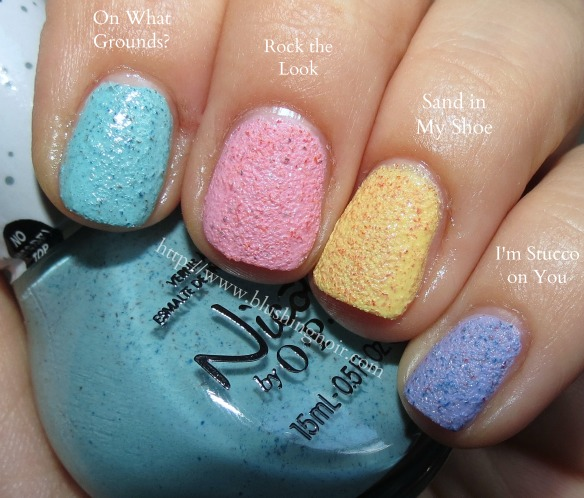 Nicole by OPI Roughles Nail Polish Swatches
