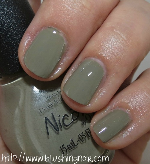 Nicole by OPI Taupe of My Class Nail Polish Swatches