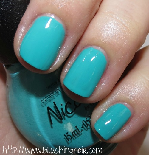 Nicole by OPI Teal Me Something New Nail Polish Swatches