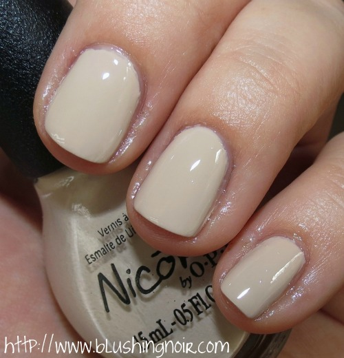 Nicole by OPI That's Putting it Mild Nail Polish Swatches