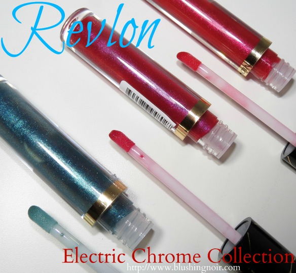 Revlon Electric Chrome Collection Swatches Photos Review Spiderman
